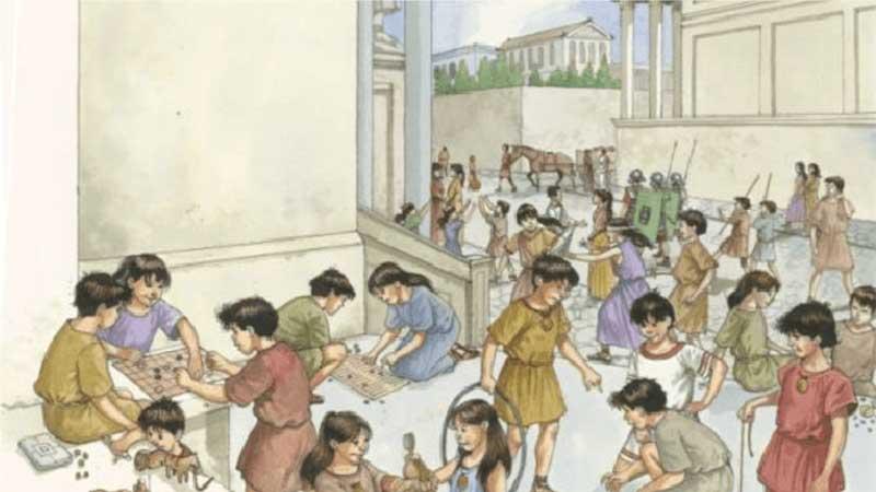 la niñez de Demóstenes